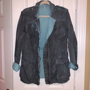 New Free People Double Cloth Jacket